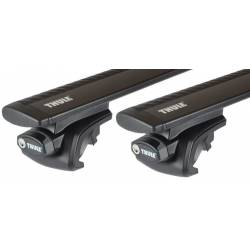 Багажник Thule Wingbar Black на рейлинги